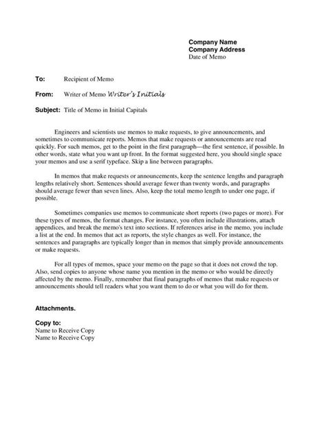 business letter and memorandum how a business memo is different from a business letter