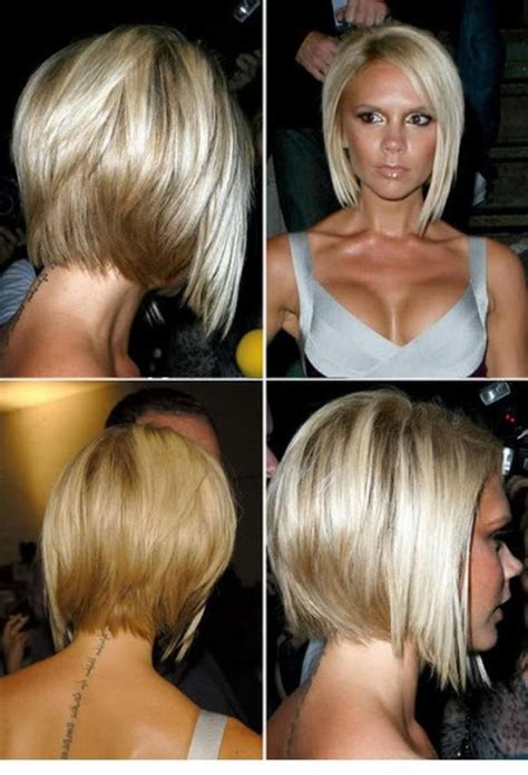 hair style long in front around chin long in back chin length hairstyles back view google search