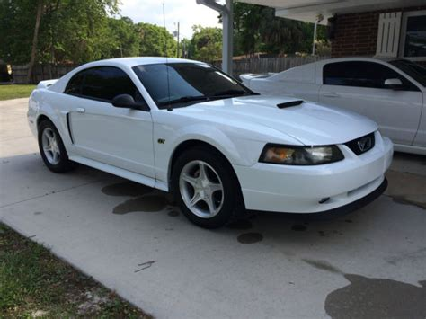 buy car manuals 2000 ford mustang engine control 2000 ford mustang gt coupe 2 door 4 6l 5 speed all orignal white