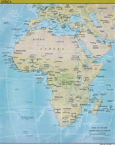 Topographic Map Of Africa by Topographic Maps Africa Images