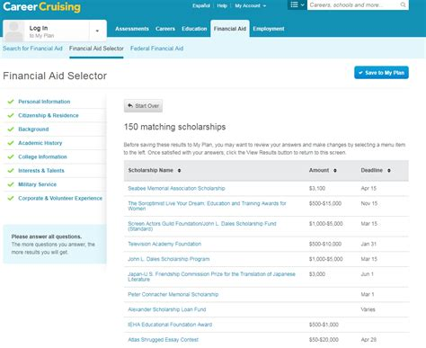 career cruising resume resume writing for high school