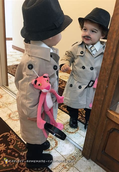 diy new year costume cool inspector jacques clouseau costume from the pink panther