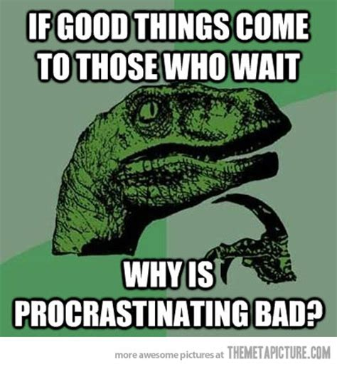 Dinosaur Memes - really good question from philosoraptor