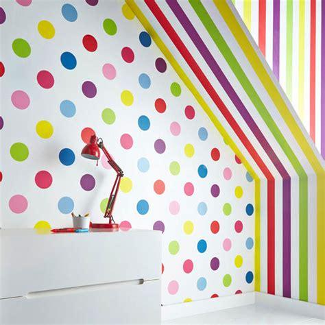 dotty multi bright wallpaper graham brown