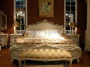 italy style european classical white and gold colour king