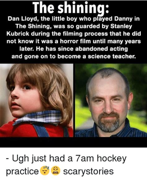 The Shining Meme - 25 best memes about who played danny in the shining who