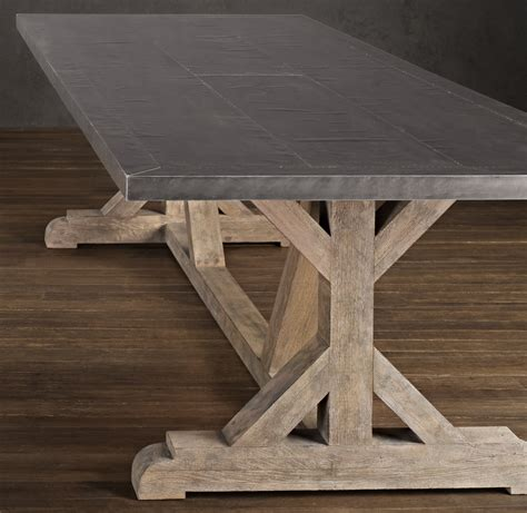 restoration hardware kitchen table restoration hardware recalls metal top dining tables due