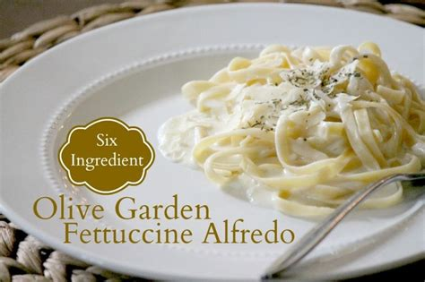 How To Make Olive Garden Chicken Alfredo by Olive Garden Fettuccine Alfredo Pincher