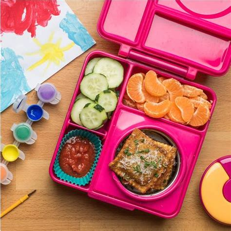 Earth Color 4 Lock Lunch Box Pink bento lunch box containers canada laptop lunches bento