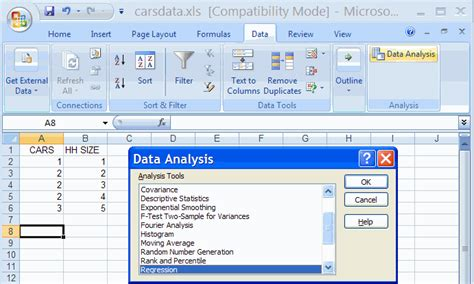 Regression Analysis Excel Template by Dashboard Excel Page 2 Of 23 Templates Software