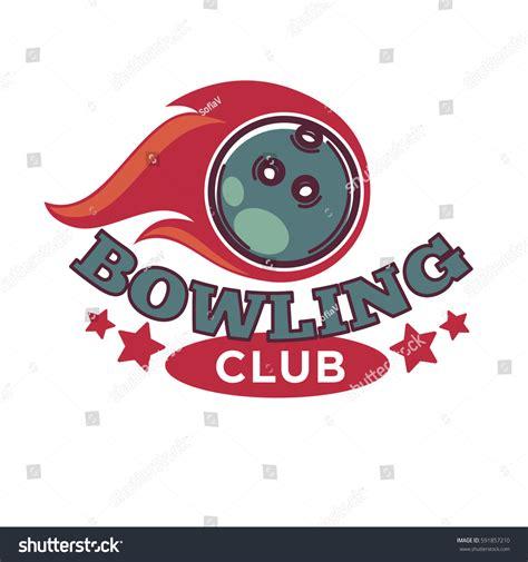 logo tournament contests bowling tournament poster logo vector template stock