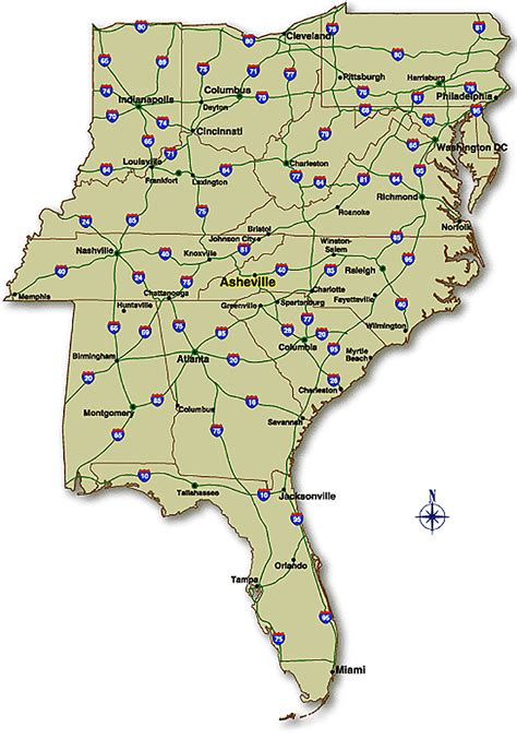map us hwy us highway map east coast travel maps and major tourist