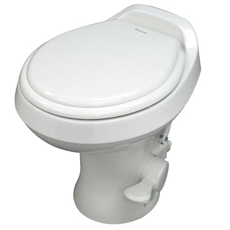 Rv Toilet Plumbing by Dometic High Profile 300 Gravity Flush Toilet White Dometic 302300071 Rv Toilets Cing