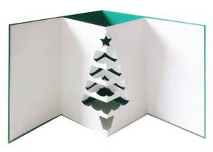 3d Christmas Tree Card Template 3d Pop Out Christmas Tree Card Svg Dxf Pdf Files