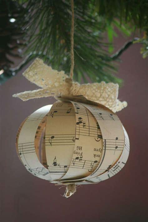 notes ornaments 10 beautiful sheet ornaments you can make