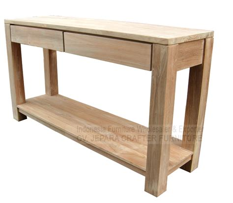 teak console table with drawers antique minimalist modern console tables teak wood