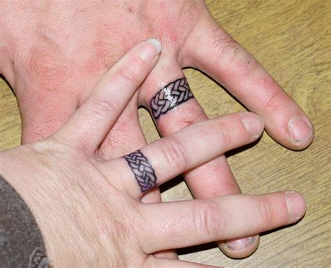 tattoo ring finger cost 17 best images about tattoo wedding bands on pinterest