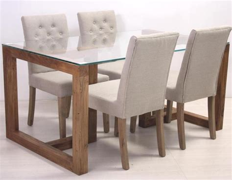sedie per tavolo cristallo tavolo con cristallo 180 x 80 etnico outlet mobili etnici