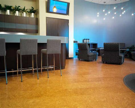 Cork Flooring Installation Photos   Dental Clinic