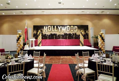 theme music in hollywood hollywood cebu balloons and party supplies