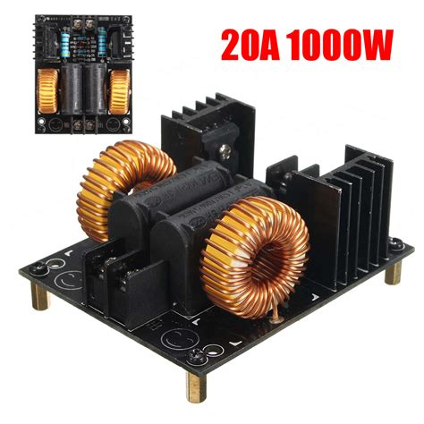 induction heater uses 20a 1000w zvs low voltage induction heating board module flyback driver heater alex nld