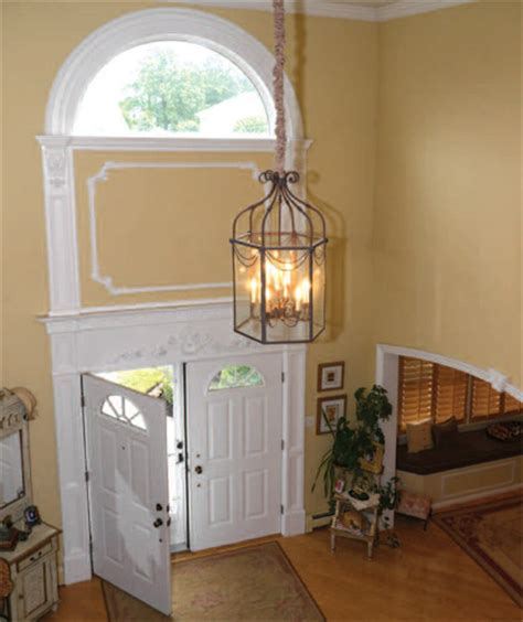 2 story foyer lighting chandeliers for foyers that flow through the two