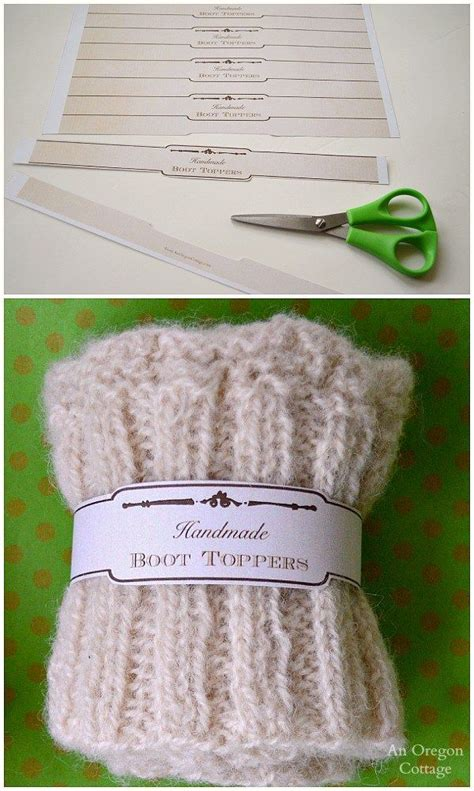 made by tags for knitting 25 best ideas about knitted boot cuffs on
