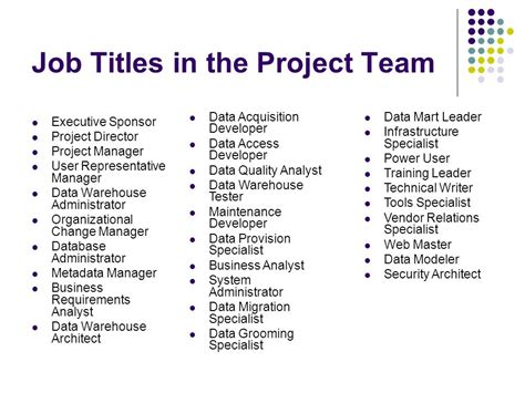 design management job titles planning a data warehouse ppt download