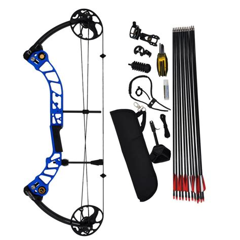 Compound Bow Topoint T1 Luxury Package topoint archery compound bow t1 package rh and lh