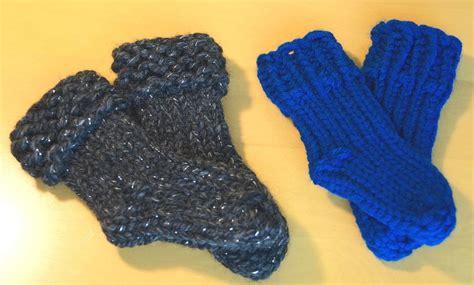 knifty knitter slipper sock pattern loom knit baby socks it s a family affair designs