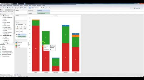 tableau tutorial on youtube tableau tutorial creating bar chart in tableau youtube