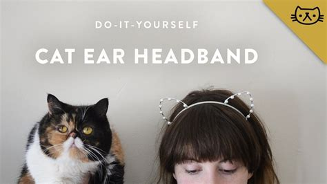 1452138923 how to be a cat how to make a cat ear headband youtube