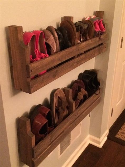 organized shoe storage without using an inch of precious floor space ikea hackers ikea hackers 25 best ideas about shoe rack pallet on pallet storage shoe rack organization and