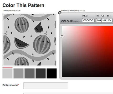 color pattern r combinar colores con colourlovers hello creatividad