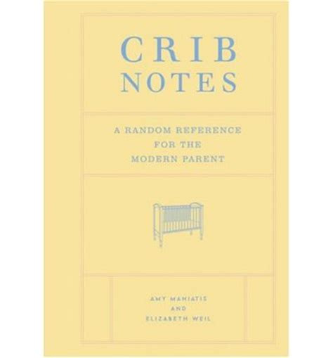 Crib Note by Crib Notes Maniatis 9780811844055