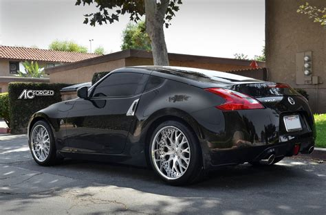 nissan 370z custom rims nissan 370z custom wheels ac 313 19x9 0 et tire size