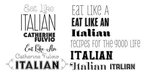 Custom Font Nameset Italy 2018 gill books media 2012tr eat like an italian