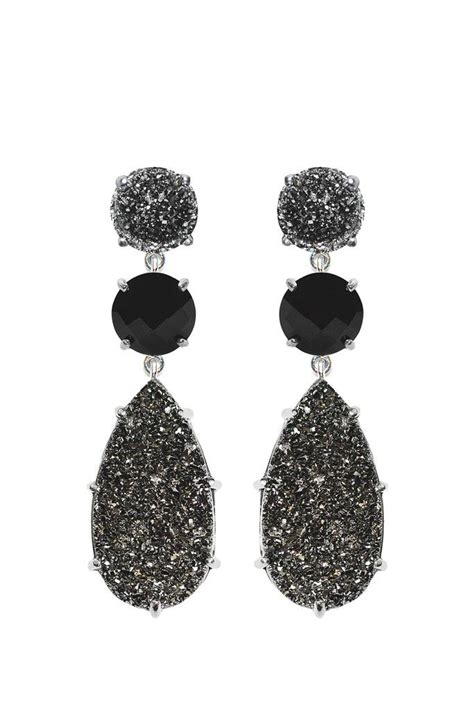 best 25 black prom earrings ideas on