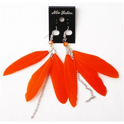 boucles d oreilles plumes 224 petit prix achat vente