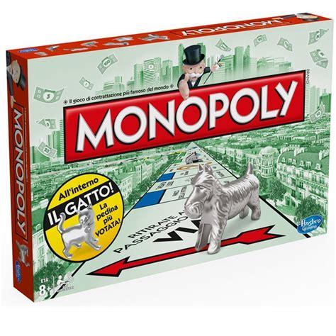 monopoly gioco da tavolo hasbro monopoly gioco da tavolo versione italiana