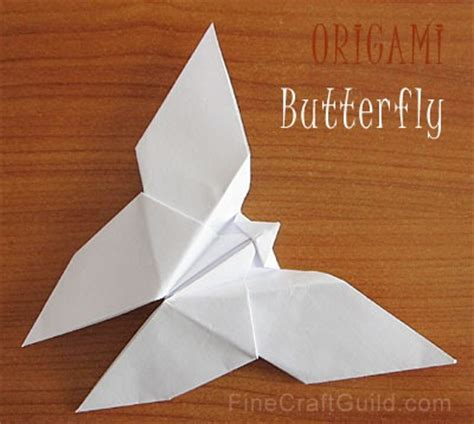 How To Make Paper Butterfly Step By Step - how to make an origami butterfly origami butterfly