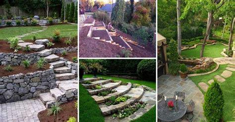 amazing ideas  plan  slope yard