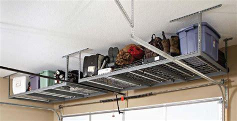 Garage Loft Shelving Garage Shelving Overhead Storage Solutions For York