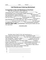 cell membrane coloring worksheet answer key eftps voice response system worksheet abitlikethis