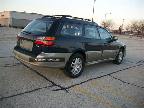 2002 Subaru Outback Awd With 5 Speed Manual Transmission