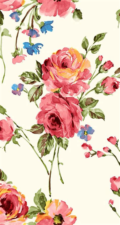 floral prints vintage flower print pattern and textures pinterest