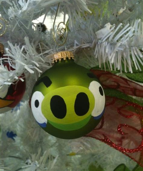 angry bird ornaments angry birds ornament make for a thrilling decor