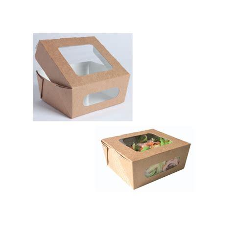 alimenti in scatola contenitore alimenti scatola monouso con finestra in