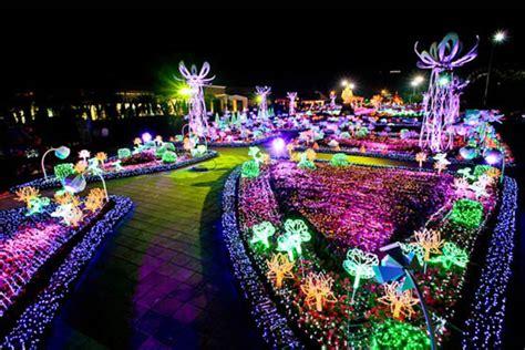 Solar Lights Thailand Sea Of Lights The Imagination Light Garden In Thailand
