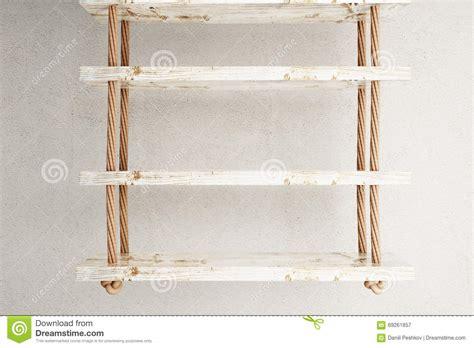 scaffali sospesi scaffali sospesi grigi illustrazione di stock immagine di